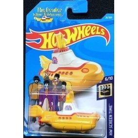 Hot Wheels Basico The Beatles Yellow Submarine Nuevo!