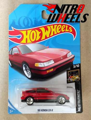 Hot Wheels Nightburnerz Honda Cr-x 88 Caja C