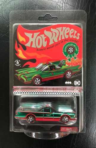 Hot Wheels Rlc Batman Batimobile  Holiday Car ¿verde¿