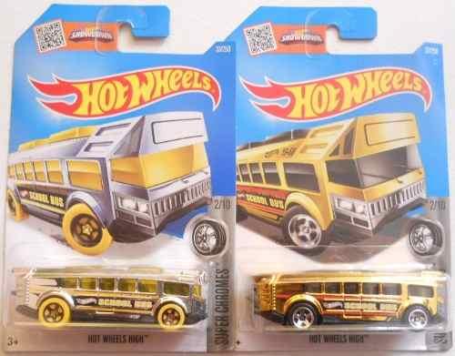 Hot Wheels , Super Chromes, Hot Wheels High