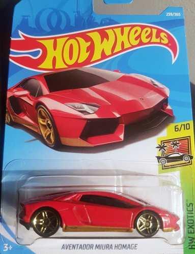 Hotwheels Lamborghini Miura Homage # Rojo