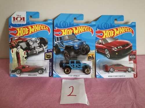 Hotwheels  Mayoreo Set De 3 Piezas Nuevos
