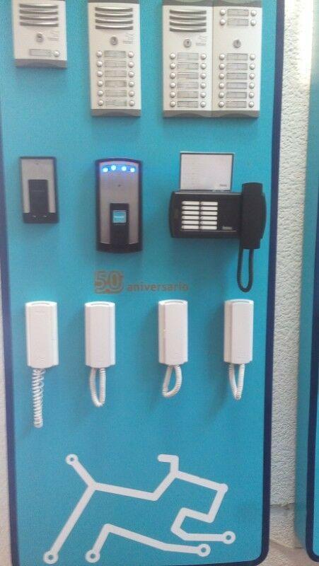 Interfon,videoportero,tablero de conserje,chapas