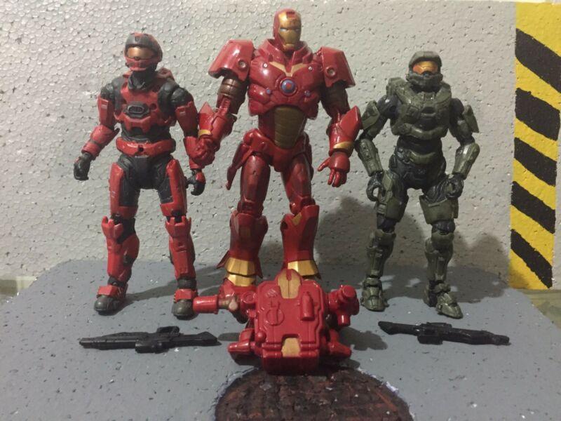 Iron man — halo