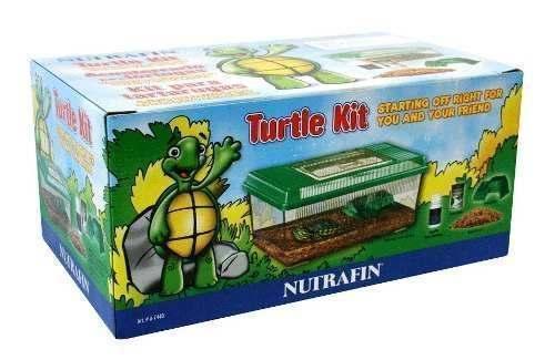 Lote 7 Pzas Kit Para Tortugas Nutrafin Ha