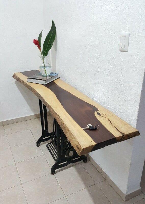 Mesa de madera solida Katalox