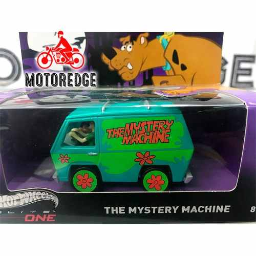Scooby Doo Van The Mistery Machine 1/50 Hotwheels Elite One