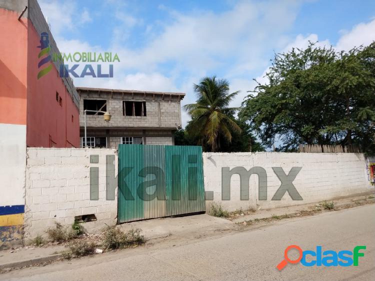 Venta terreno 179 m² Col. Anáhuac Tuxpan Veracruz,