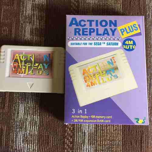 Action Replay 4m Plus+ Modchip+5 Juegos(sega Saturn)+ Envio
