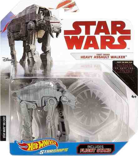 At M6 Heavy Assault Walker Star Wars Hot Wheels