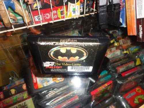 Batman The Videogame Sega Genesis Cartucho