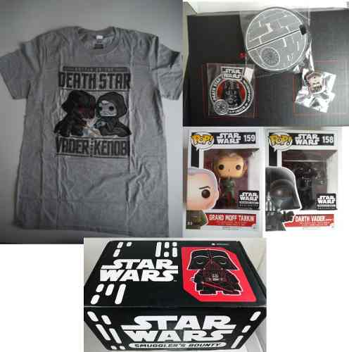 Box Set Smugglers Bounty Death Star Funko Pop Star Wars Med