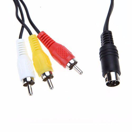 Cable De Conexión Para Sega Genesis 32x 9pin S-video