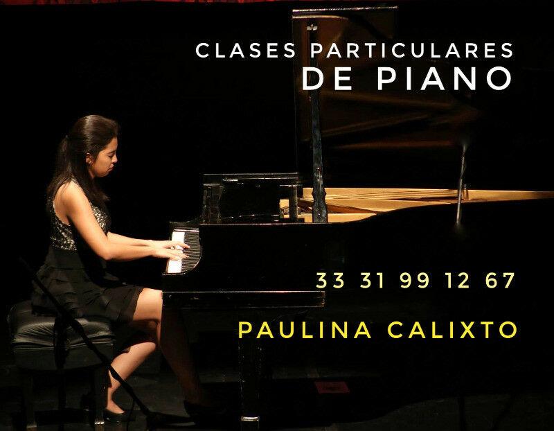 Clases de Piano a domicilio!!