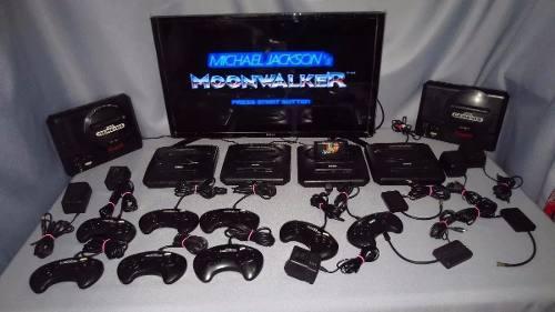 Consola Sega Genesis Con 2 Juegos A Escoger Sonic Aladdin