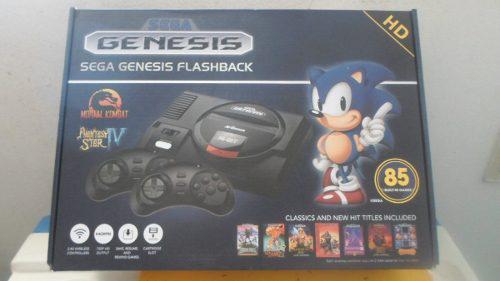 Consola Sega Genesis Flashback Retro Hd Con 85 Juegos