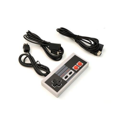 Controlador + 2 X Cable De Extensión Para Nintendo Nes