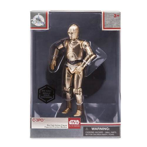Disney Store Figura Robot C-3po Star Wars Elite Original