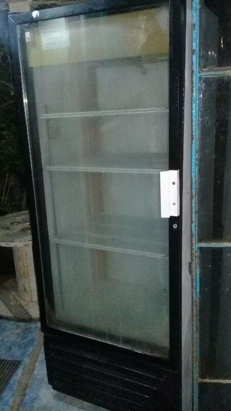 Endriador puerta de cristal
