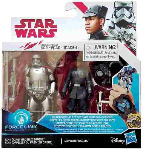 Finn First Order & Captain Phasma Star Wars 2-packs 3.75