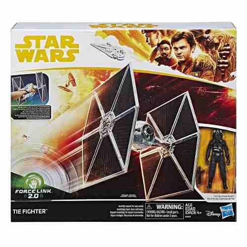 Hasbro Star Wars Figura Tie Fighter Pilot Force Link