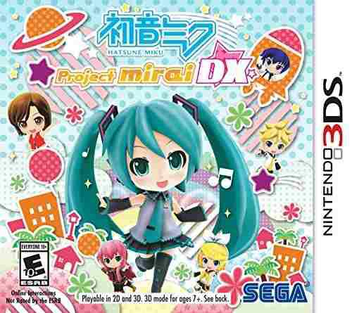 Hatsune Miku Project Mirai Dx - Nintendo 3ds