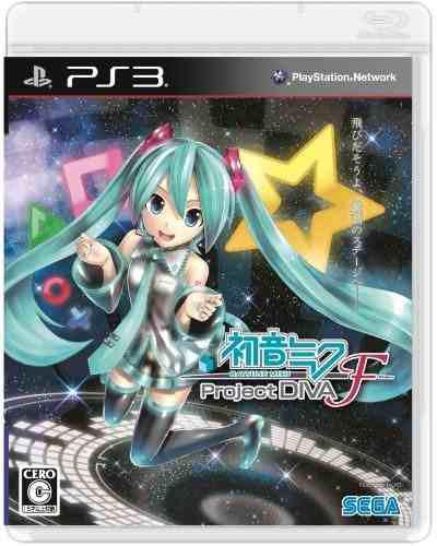 Hatsune Miku Proyecto Diva F Japonés Import Playstation 3