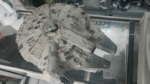 Millenium Falcon, Star Wars, The Power Of The Force Kenner