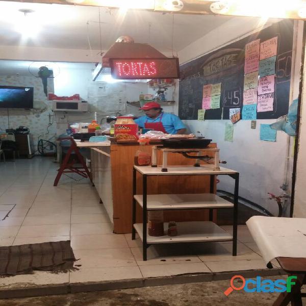 Mueble para negocio de comida. TACOS, TORTAS Y OTROS