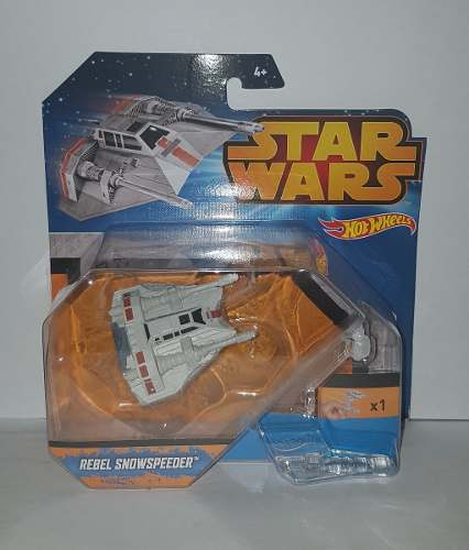 Oferta Nave Star Wars Hot Wheels Rebel Snowspeeder *