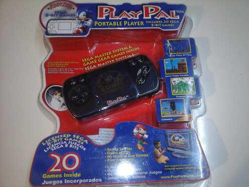 Portatil Play Pal Con Juegos Integrados De Sega Master
