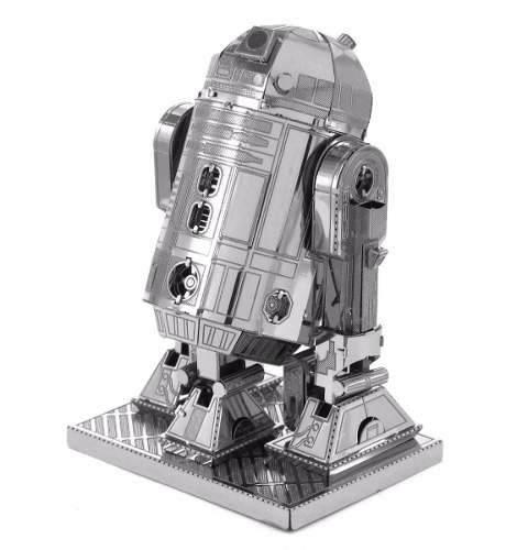 R2 D2 R2d2 Star Wars Rompecabezas 3d Metal