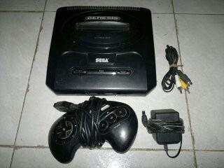 Sega Genesis 2 Completo,funcionando Perfectamente.