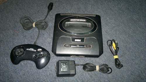 Sega Genesis 2 Completo,funcionando Perfectamente,animate.