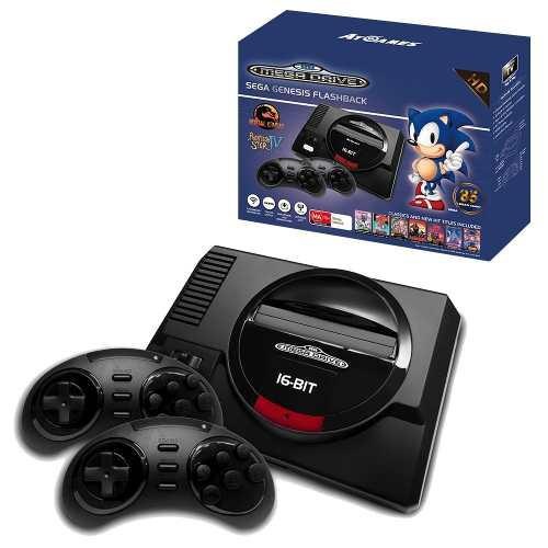 Sega Genesis Flashback Hd Controles Inalambricos 85 Juegos