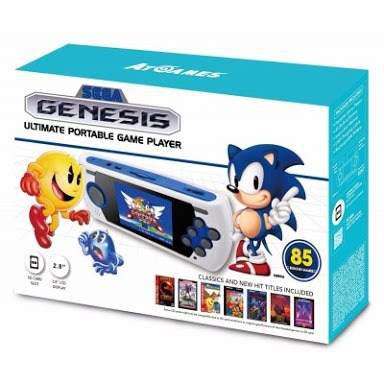 Sega Genesis Portable 85 Juegos Integrados