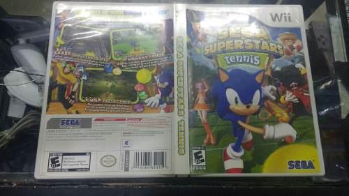 Sega Super Star Tennis Wii