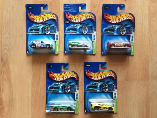 Set 5 Hot Wheels Serie Sega Fandango Lotus Cougar Gt.