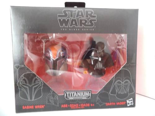 Set Cascos Darth Vader Y Sabine Wren Star Wars Hasbro