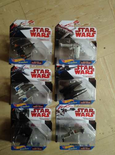 Set De 6 Naves De Star Wars Starships