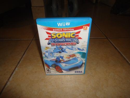 Sonic All Stars Racing Transformed Sega Nintendo Wii U Wiiu
