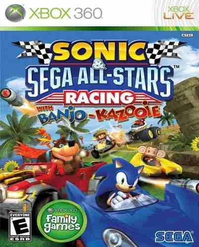 Sonic Sega All Stars Racing Xbox 360 Nuevo Y Sellado Juego