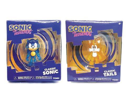 Sonic Y Tails Classic Figura Articulable The Hedgehog Sega