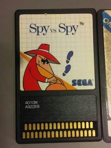 Spy Vs Spy Sega Card, Sega Master System.