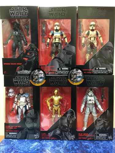 Star Wars Lote 2 Black Series 6 Figuras