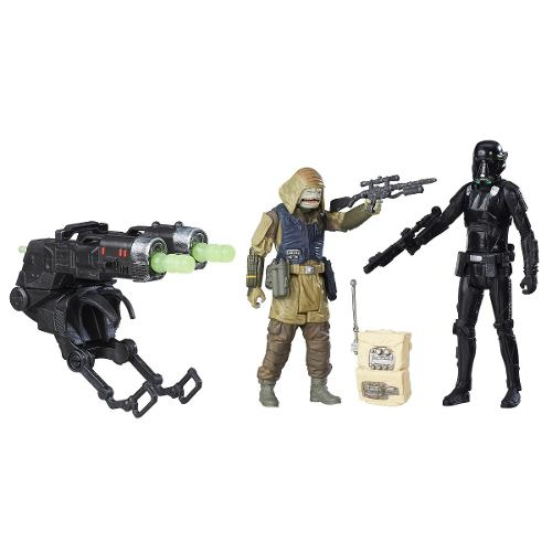 Star Wars Rogue One Soldado De La Muerte+rebel Comando Pao