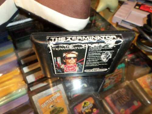The Terminator Sega Genesis Cartucho
