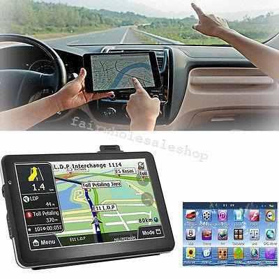 7 Hd Touch Pantalla Coche Carro 8gb Gps Navegación Nav-