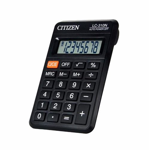 Calculadora Citizen De Bolsillo Lc301