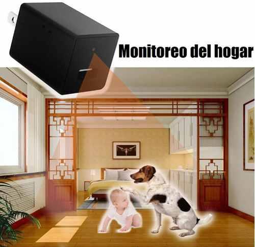 Cámara Wifi Espia En Cargador Usb Spy Cam p Full Hd